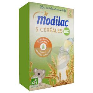 Cereales Farine 5 Cereales Bio A Partir De 6 Mois B 230 G