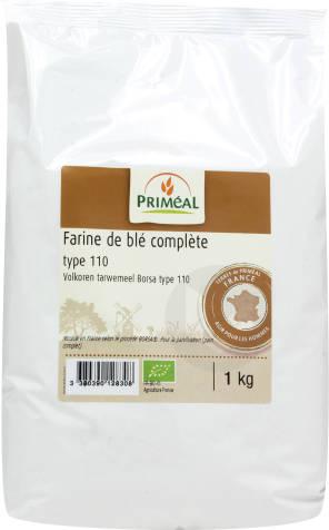 Farine De Ble Complete T 110 1 Kg