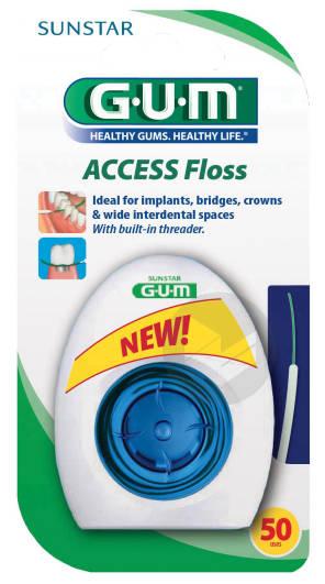 Fil Dentaire Access Floss X 50