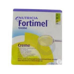 Fortimel Creme Nutriment Vanille 4 Coupelles 200 G