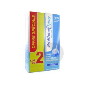 Pro Rhinel Spray Nasal Enfants Adultes Lot De 2 X 100 Ml