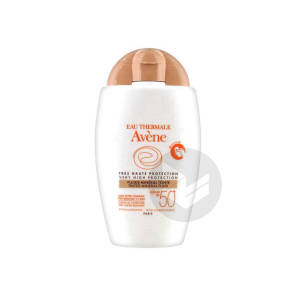 Solaire Spf 50 Fluide Mineral Teinte T 40 Ml