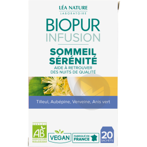Infusion Sommeil Serenite