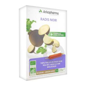 Arkofluide Bio Ultraextract Radis Noir S Buv 20 Amp 10 Ml