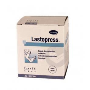 Lastopress Bande Cohesive Contention Blanche 7 Cmx 3 M