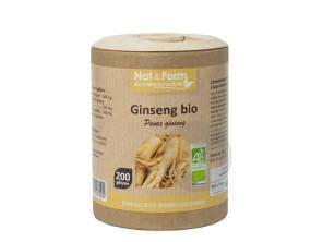 Ginseng Bio Eco Responsable 200 Gelules