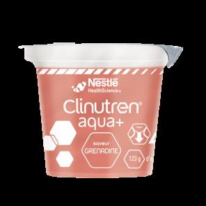 Clinutren Aqua Saveur Grenadine 4 X 125 G