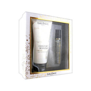 Galenic Coffret Confort Supreme Creme Lactee Nutritive 100 Ml Huile Seche Parfumee 15 Ml