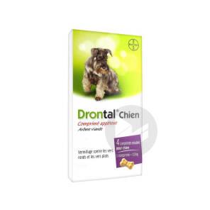 Drontal Comprimes Pour Chien X 4