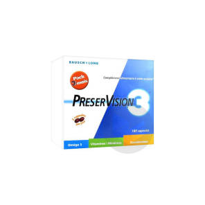 Preservision 3 Caps Visee Ophtalmique Pack 3 B 60