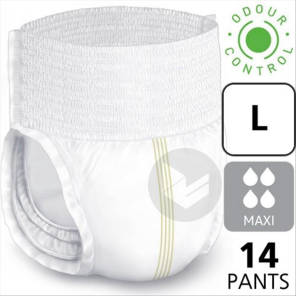 Lille Pants Slip Absorbant Maxi Taille L 14 Changes