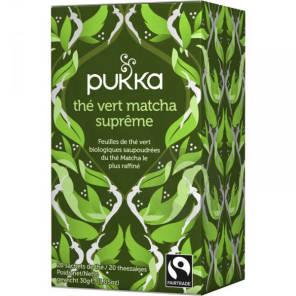 The Vert Matcha Supreme Bio 20 Sachets