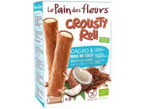 Crousty Roll Tartines Craquantes Cacao Fourrees Noix De Coco Bio 125 G