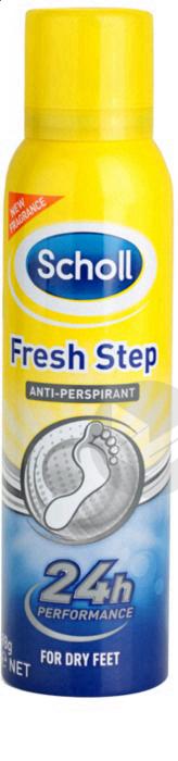 Scholl Fresh Step Anti Transpirant Pieds 150 Ml