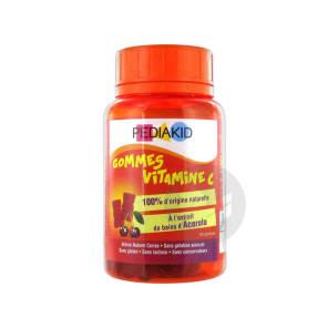 Gomme Ourson Vitamine C Cerise X 60