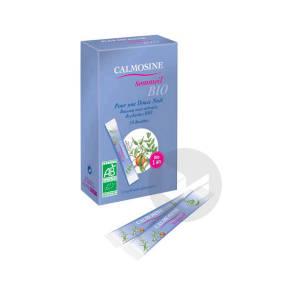 Calmosine Sommeil Bio Boisson Relaxante Extraits Naturels De Plantes 14 Dosettes 10 Ml