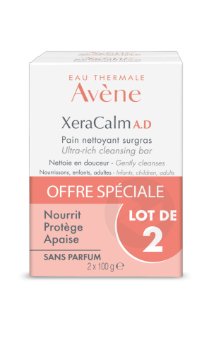 Pain Nettoyant Surgras 2 X 100 G