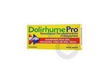 Paracetamol Pseudoephedrine Et Doxylamine Comprime Plaquette De 16