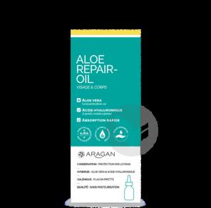 Aloe Repair Oil Flacon Pipette 50 Ml