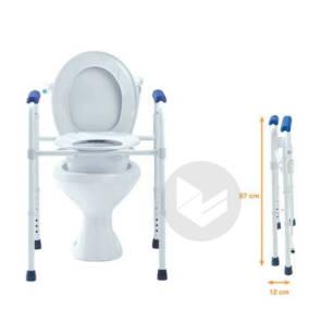 Home Care Vital Chaise De Toilette 3 En 1