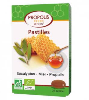 Pastilles Propolis Miel Eucalyptus Bio 24 Pastil Les