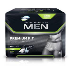 Men Premium Fit Protection Urinaire Niveau 4 M Sach 12