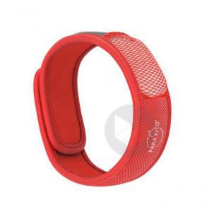 Parakito Bracelet Anti Moustiques Rouge