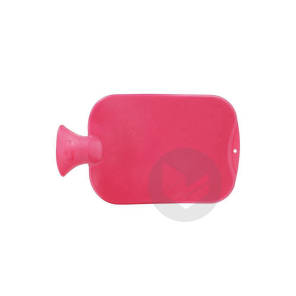 Bouillotte En Thermoplastique Rouge 2 Litres