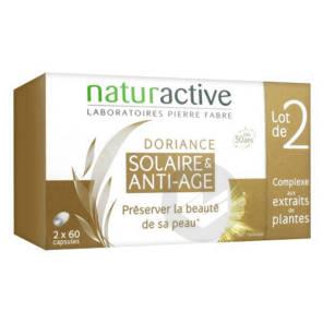Doriance Solaire Anti Age Lot De 2 X 60 Capsules