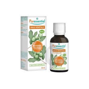 Huile Vegetale Bio Macadamia Fl 30 Ml