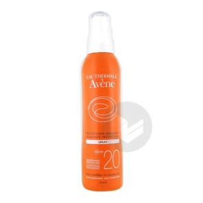 Avene Solaire Spf 20 Spray Protection Moderee Fl 200 Ml