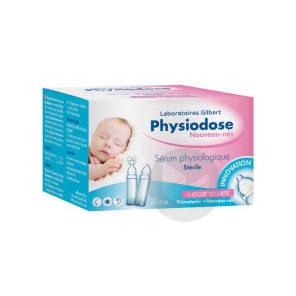 Physiodose Serum Physiologique 30 Unidoses De 5 Ml