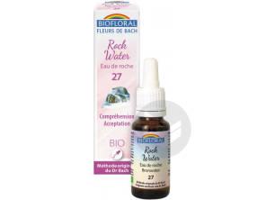 Fleur De Bach Rock Water N 27 20 Ml