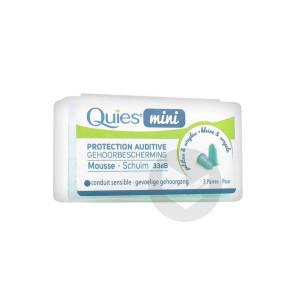 Mini Protection Auditive Mousse 3 Paires