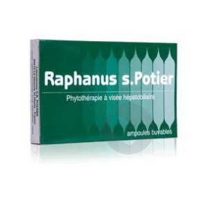 Raphanus S Potier Bio S Buv Visee Hepatobiliaire 12 Amp 10 Ml