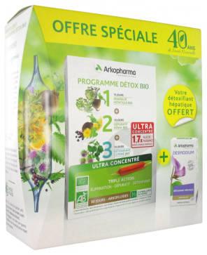 Arkofluides Programme Detox Bio Arkogelules Desmodium 45 Gelules Offertes