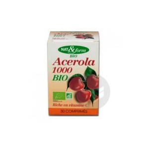 Nat Form Bio Acerola 1000 Cpr B 30