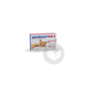 Milbemax Tab Chat 2 Comprimes