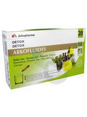 Arkofluide Bio S Buv Detox 20 Amp 15 Ml