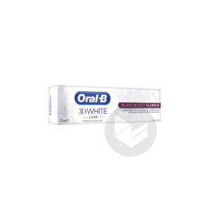 Oral B 3 D White Luxe Dentifrice Blancheur Et Glamour T 75 Ml