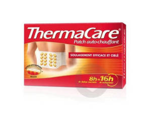 Thermacare Bas Du Dos X 4