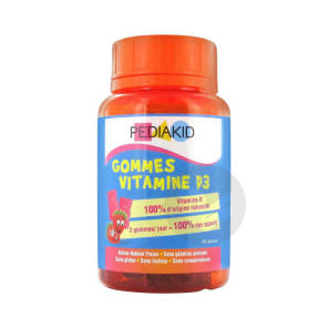Gommes Vitamine D 3 60 Gommes