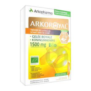Arkoroyal Gelee Royale Bio 1500 Mg S Buv 20 Amp 10 Ml