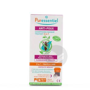 Anti Poux Shampooing Masque Traitant 2 En 1 150 Ml