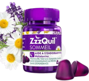 Zzzquil Sommeil 60 Gommes