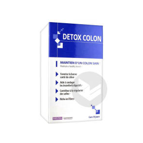 Detox Colon Pdr A Diluer 10 Sach 10 G