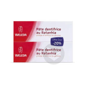 Soins Bucco Dentaires Pate Dentifrice Ratanhia 2 T 75 Ml