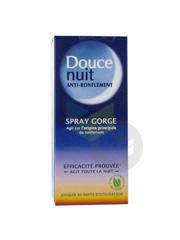 Doucenuit Gorge S Bucc Anti Ronflement Spray 22 Ml