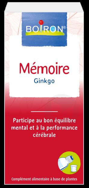Extrait De Plantes Memoire Ginko 60 Ml