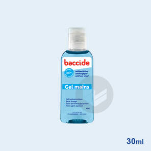 Gel Hydro Alcoolique Mains Parfum Classique 30 Ml